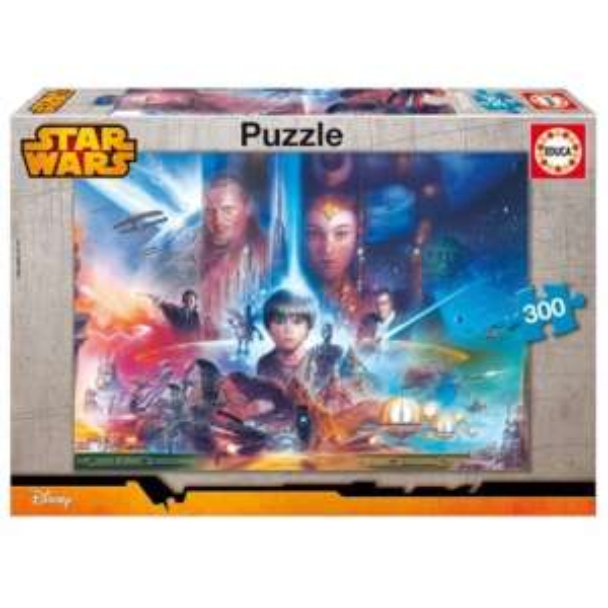 Jusqu'à –63 % sur une sélection jouets Star Wars / Playmobil / Disney- Ex: Puzzle 300 pièces Star Wars