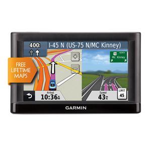GPS Garmin Nuvi 52LM + housse (30€ sur la carte + 20€ en carte cadeau)