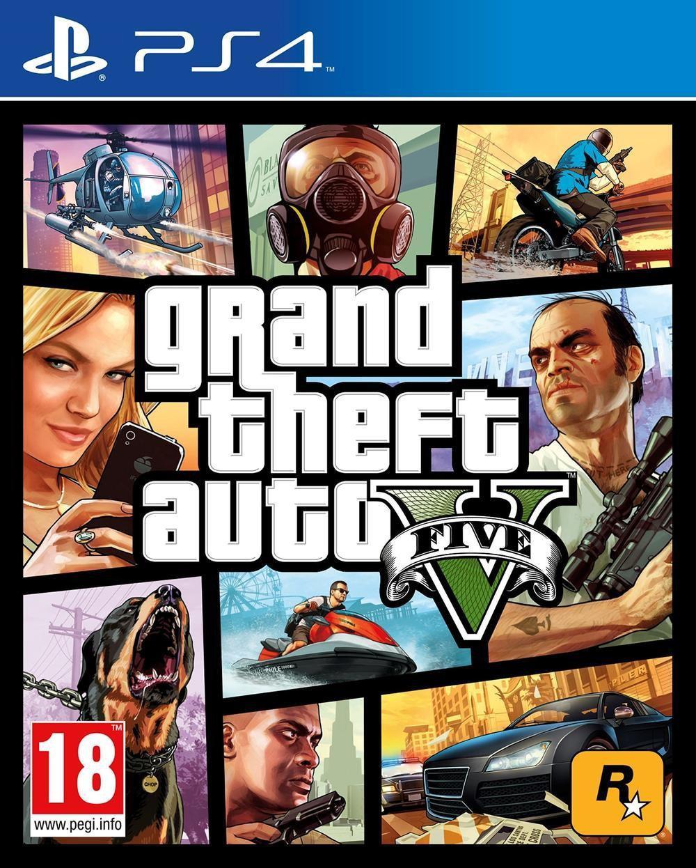Grand Theft Auto V sur PS4 et Xbox One