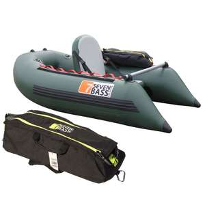 Pack float tube Seven Bass USA Expedition + sacoches