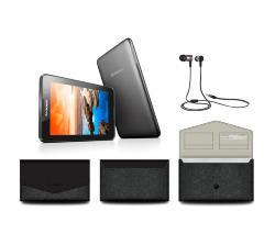 """Tablette 7"""" Lenvoo A7-40 7"""" + Housse Samsonite + Ecouteurs JBL JL10 (Avec ODR de 30€ + 20€ en carte cadeau)"""