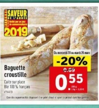Baguette croustille