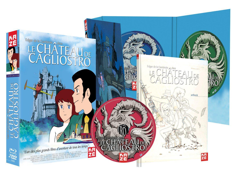 Coffret Collector Blu-ray/DVD Le château de Cagliostro