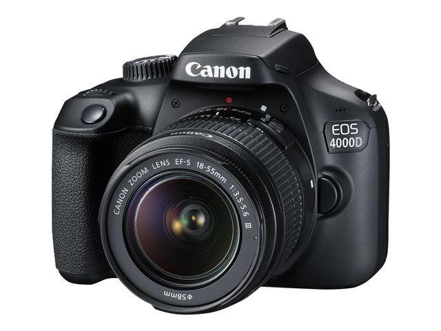 Kit Appareil Photo Numérique Canon EOS 4000D avec Objectif 18-55