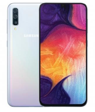 """Smartphone 6.4"""" Samsung Galaxy A50 -  Dual Sim, 6Go/128Go, Bleu"""
