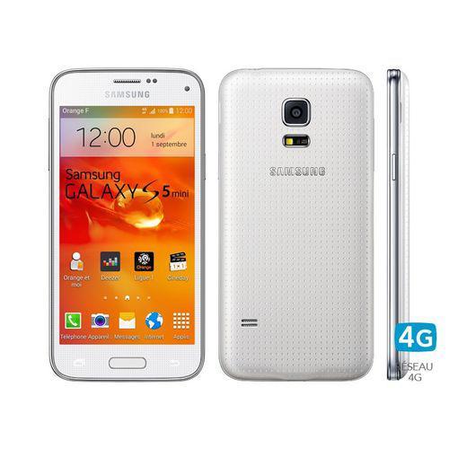 "Smartphone 4.5"" Samsung Galaxy S5 mini - 16 Go"