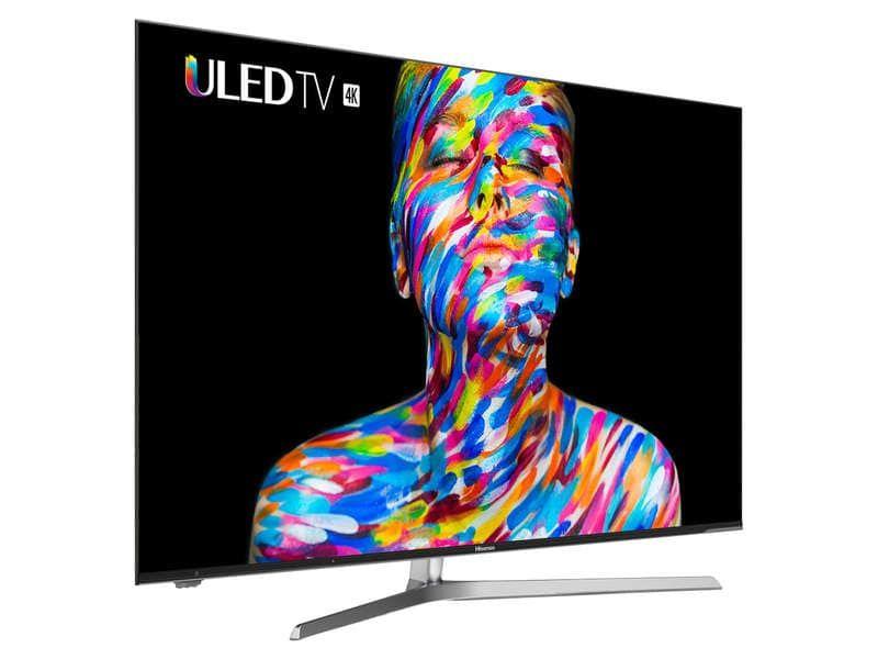 """TV ULED 54"""" Hisense H55U7A - 4K UHD, 100Hz, Smart TV (+30€ sur la carte Confo+)"""