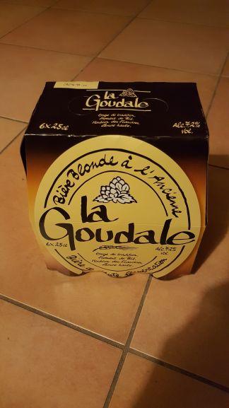 Pack de bières la Goudale 6×25 cl (avec 1.55€ sur la carte et 1.37€ en bon d'achat) - Géant Casino