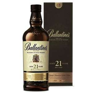 Bouteille de Scotch Whisky Blend Ecosse Ballantine's 21 ans - 70 cl