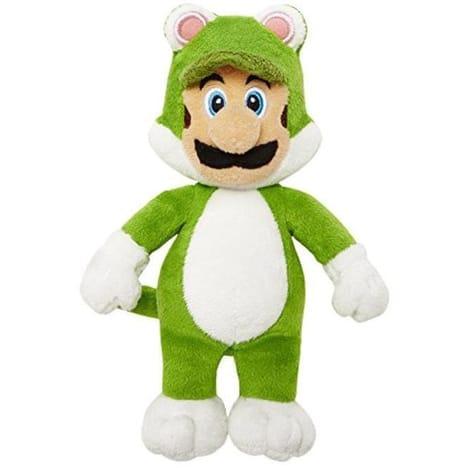 Sélection de peluches Mario en promotion - Ex : Peluche Luigi Chat - 15cm