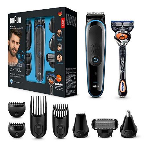 Tondeuse barbe et cheveux 9-en-1 Braun MGK3085