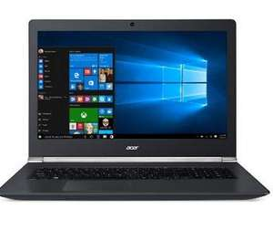 "PC Portable 17"" Acer Aspire V Nitro VN7-791G-73VR - Noir - Intel Core i7-4720hq, 8 Go de RAM, 1 To, NVidia GTX 960M"