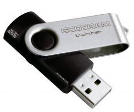 Clé USB 2.0 Goodram Twister - Noir - 64 Go