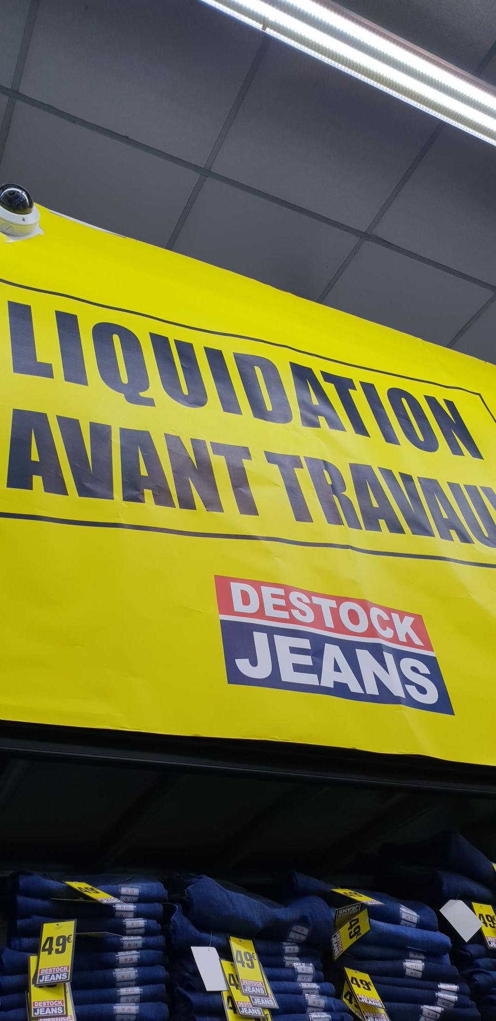 Sélection de Marques de Jeans en destockage - Saint-Priest (69)