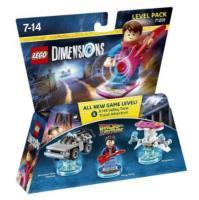 Figurines Lego Dimensions : Pack Aventure - Retour vers le futur ou The Simpsons (retrait en magasin)