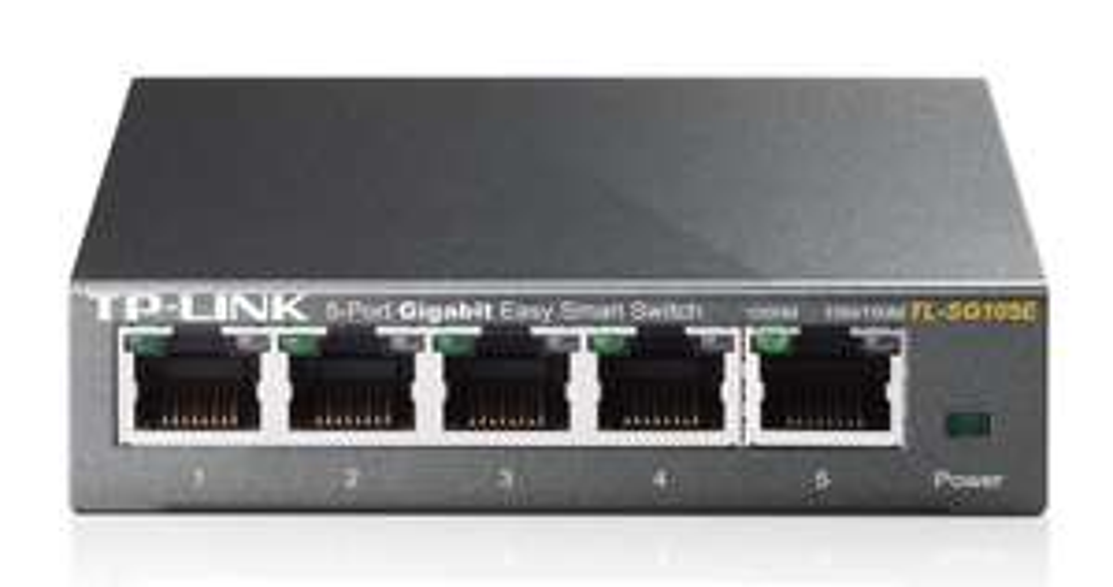 Switch Administrable 5 Ports Gigabit TP-Link TL-SG105E Easy Smart