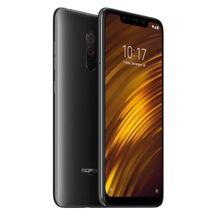 "[CDAV] Smartphone 6.18"" Xiaomi Pocophone F1 - full HD+, SnapDragon 845, 6 Go de RAM, 64 Go, Noir (via ODR de 50€)"
