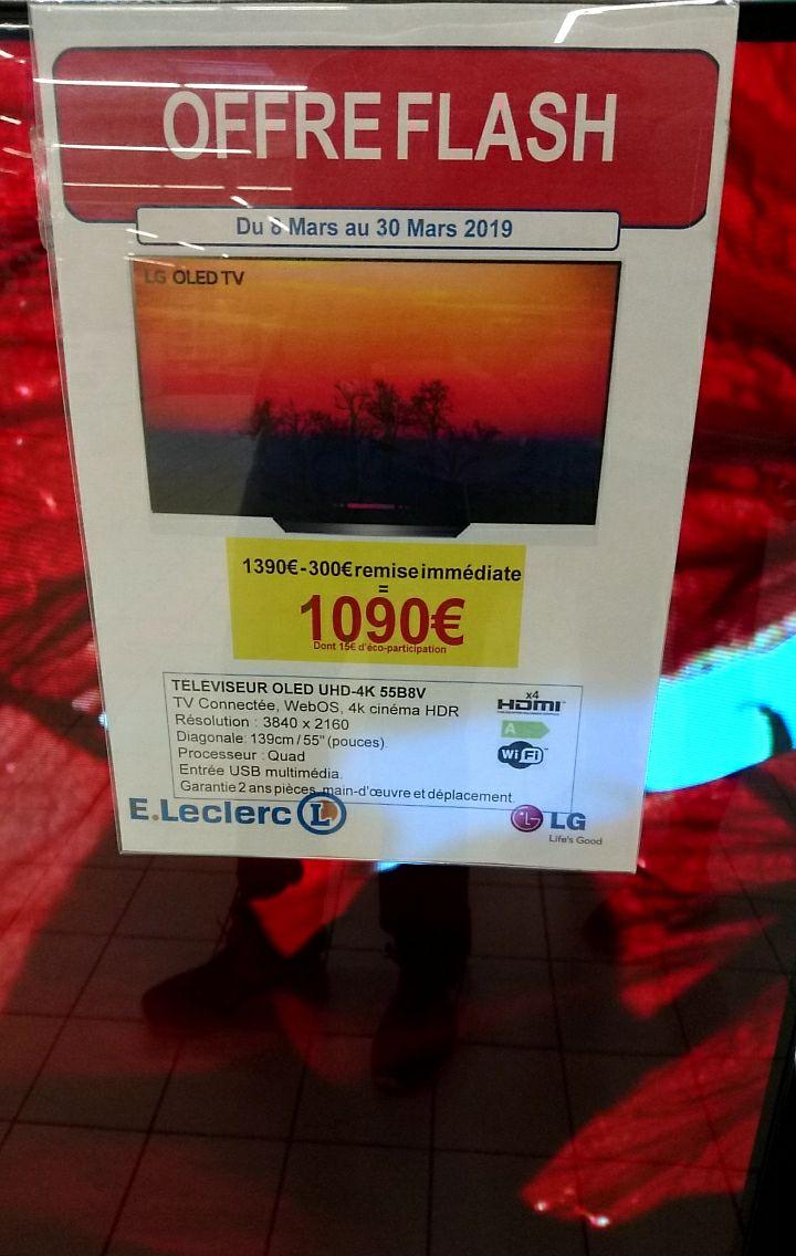 "Tv 55"" LG OLED55B8 -4K UHD, OLED - Saint Paul Lès Dax (40)"