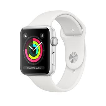 Montre connectée Apple Watch Série 3 GPS (Argent) - 42 mm