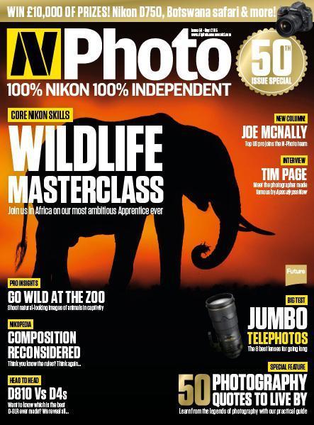 50ème numéro du Magazine N-Photo gratuit (en anglais - version numérique)