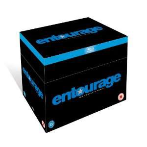 Intégrale BLU RAY VO Sous titres FR (audio VF à vérifier) Entourage 8 saisons (18 bluray !)