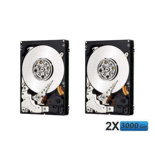 Lot de 2 Disques durs internes Western Digital Green 3 To WD30EZRX