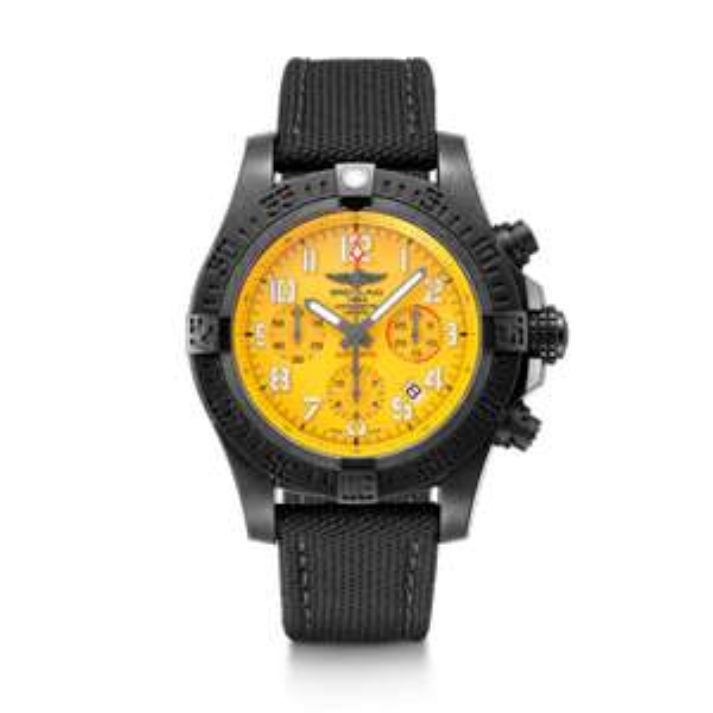 Montre Breitling Hurricane jaune Cobra (Jomashop - Frais de douane inclus)
