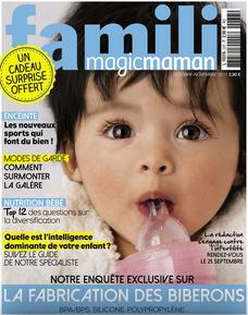 Abonnement de 2 ans au magazine Famili - 12 numéros + Crème mustela