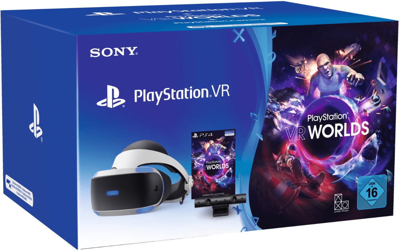 100€ de réduction sur tous les packs Sony PlayStation VR - Ex : casque PlayStation VR + caméra (V2) + VR Worlds