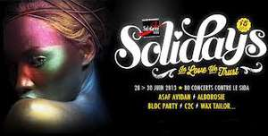 Pass Solidays 2013 - 3 jours