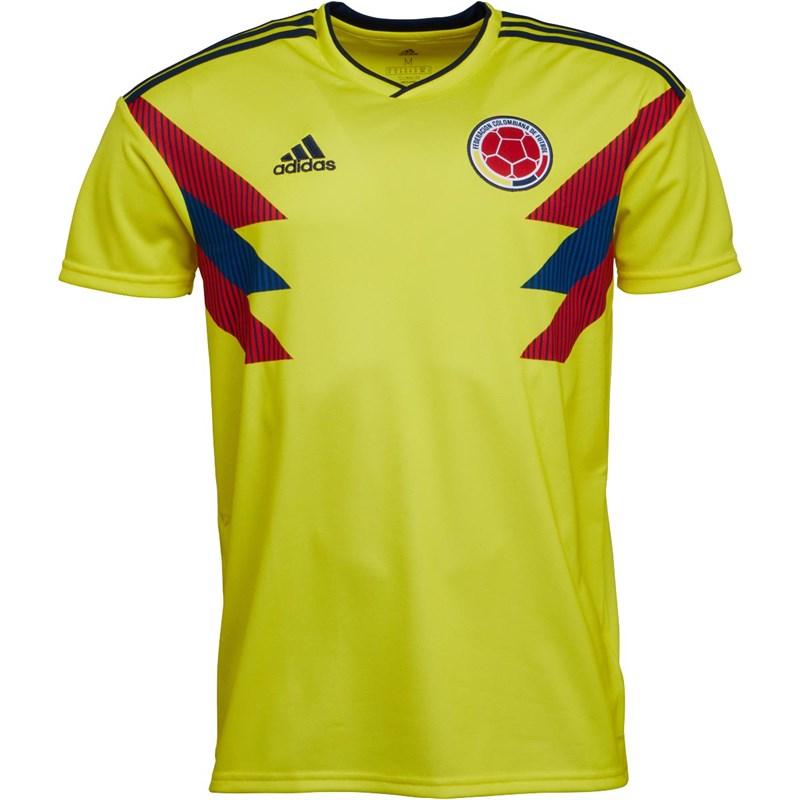 Maillot de football adidas FCF Équipe de Colombie 2018 - tailles S, M ou XL