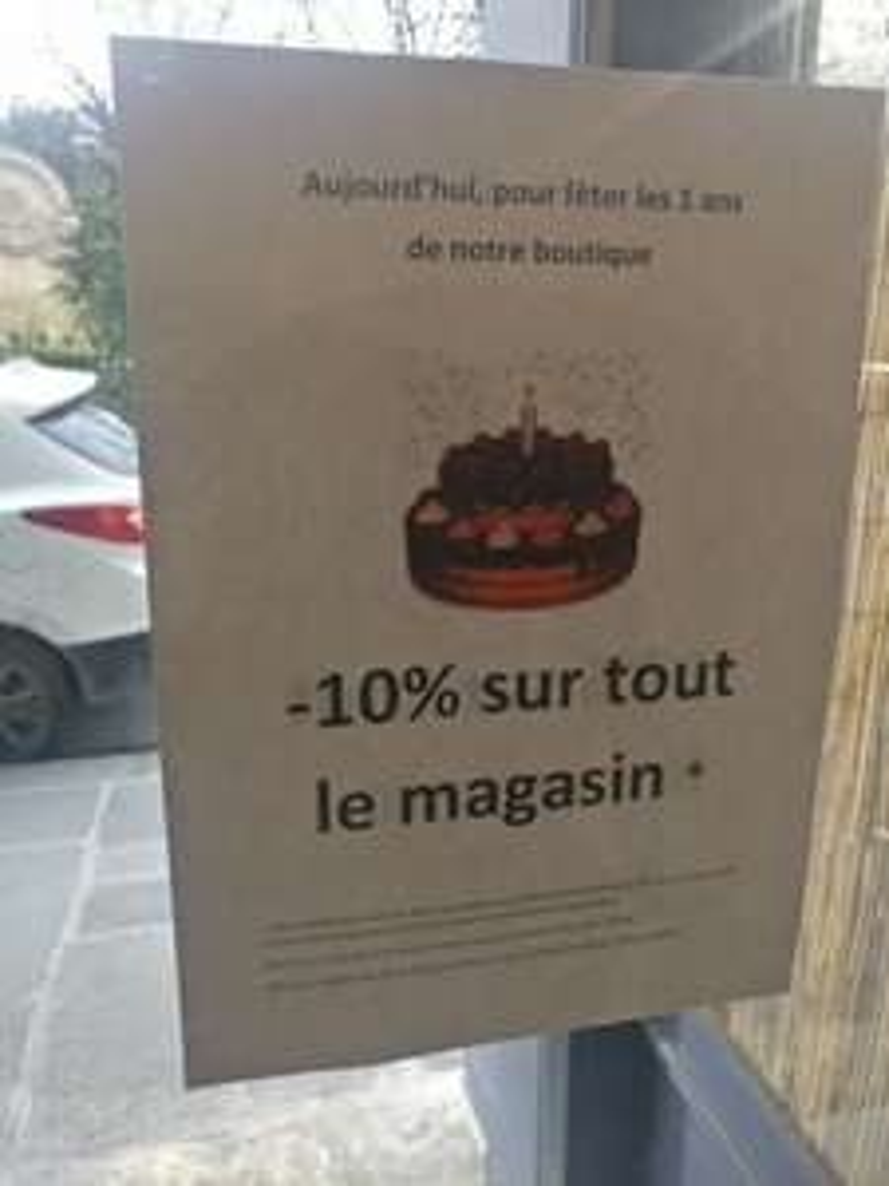 10% de réduction sur toute la boutique -  Haussmann Paris (75)