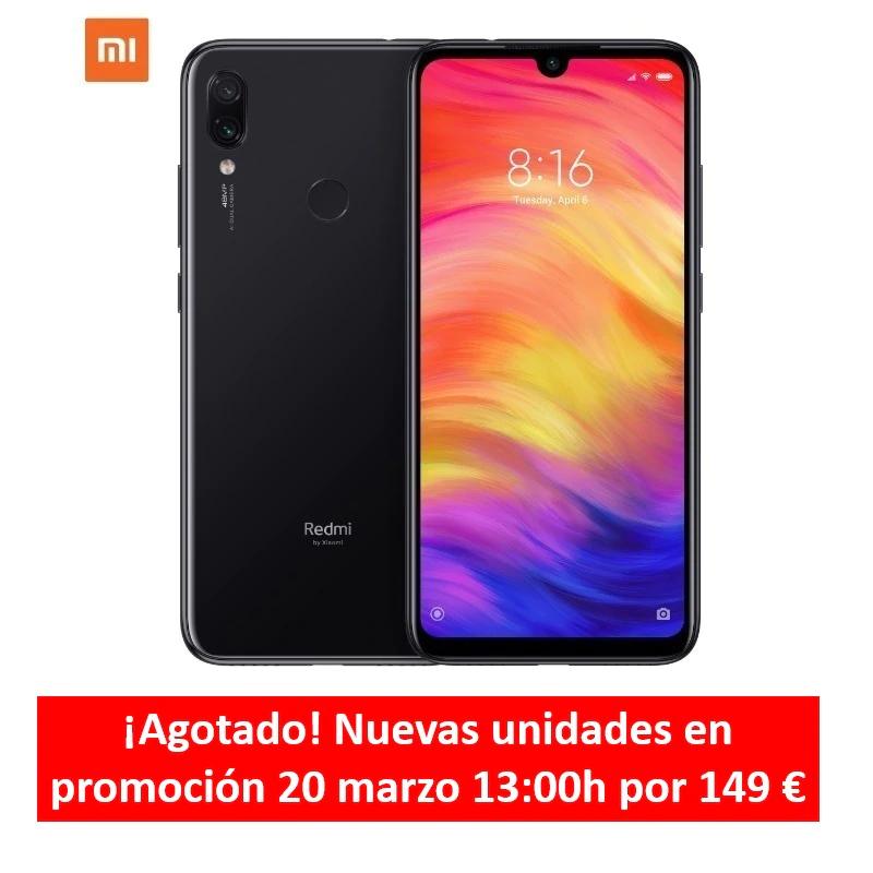 "Smartphone 6,3"" Xiaomi Redmi note 7 (Version Global) - Snapdragon 660, 3Go RAM, 32Go ROM, B20 (Entrepôt Espagne)"