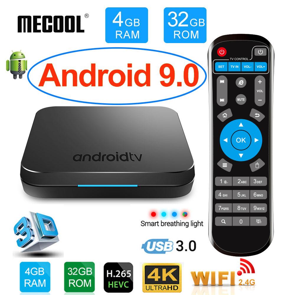 Box TV Mecool KM9 (Plug EU) - S905X2, RAM 4Go, 32Go
