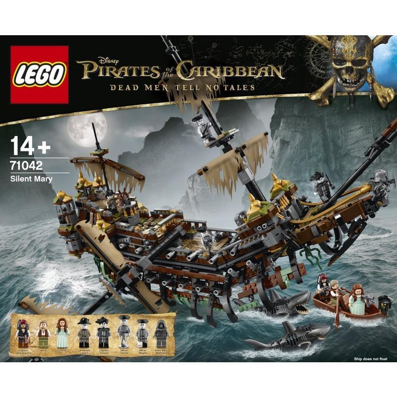 Sélection de LEGO en promotion - Ex : LEGO Pirates des Caraïbes Silent Mary - 71042
