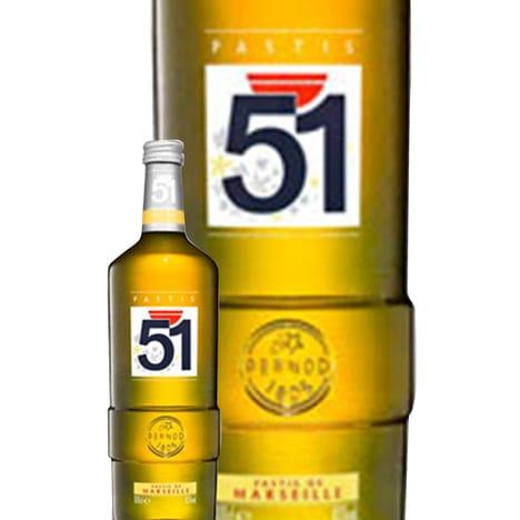 Bouteille de Pastis 51 - Magnum, 1.5l, 45%
