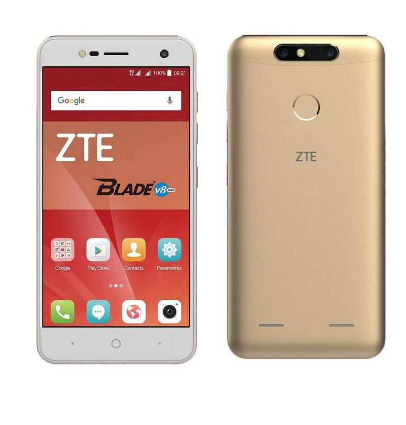 "Smartphone 5"" ZTE Blade V8 Mini - HD, Snapdragon 435, 2 Go RAM, 16 Go ROM, 4G"