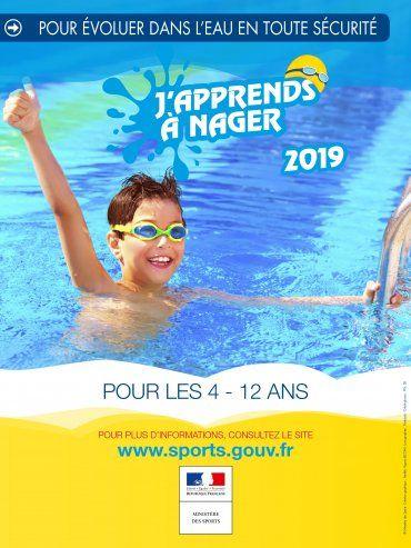 [De 4 à 12 ans - J'apprends à Nager] 10 à 12 cours de natation gratuits pour les enfants (Licence de 15€ obligatoire)