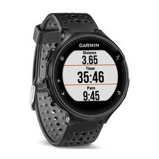 Montre GPS Garmin Forerunner 235 avec cardio - Noir/Gris