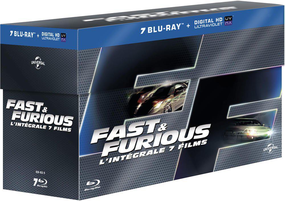 Coffret Blu-ray: L'intégrale des 7 films Fast & Furious
