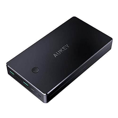 Batterie Externe Aukey - 20000mAh, 2 Ports Entrée Micro USB + Lightning (Vendeur tiers)