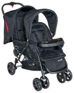 Poussette Tandem Duodeal  Safety 1st Full Black Collection 2015
