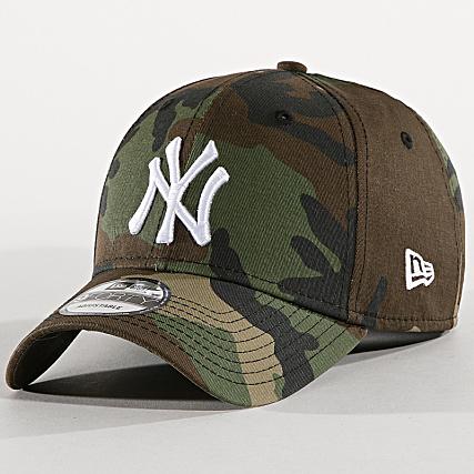 Sélection de casquettes New Era en promotion - Ex : Casquette New Era Yankees - Camouflage