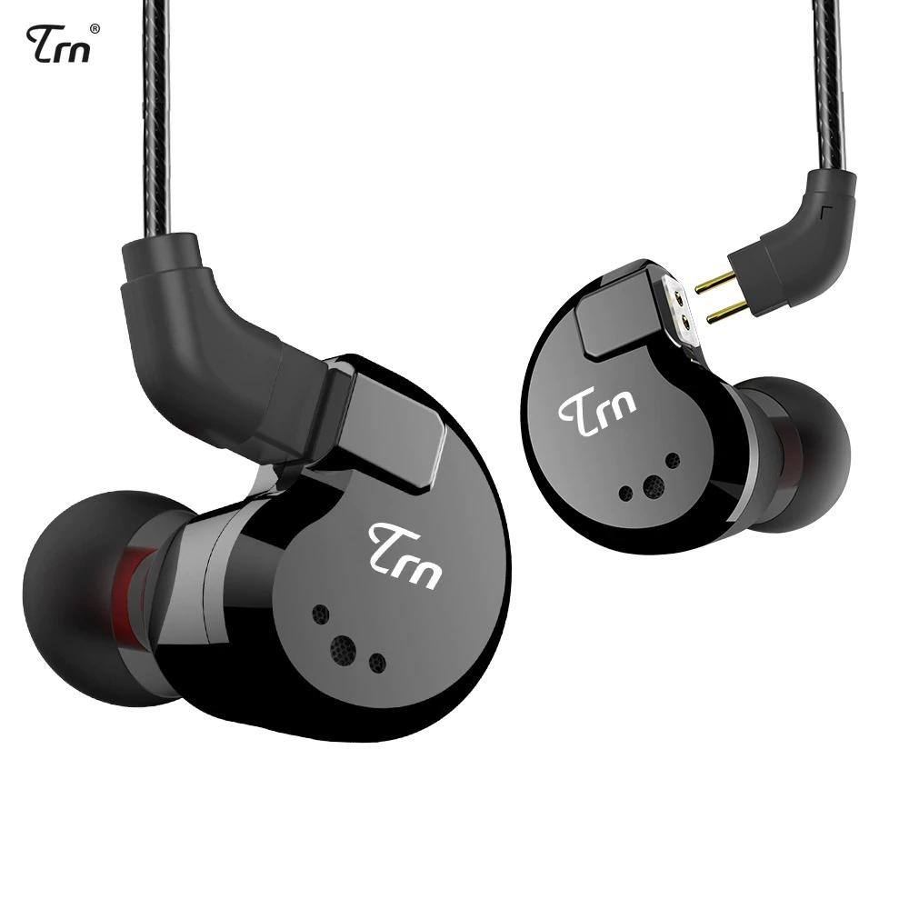 Écouteurs filaires intra-auriculaire TRN V80 2BA + 2DD (18,24€ via le Coupon)
