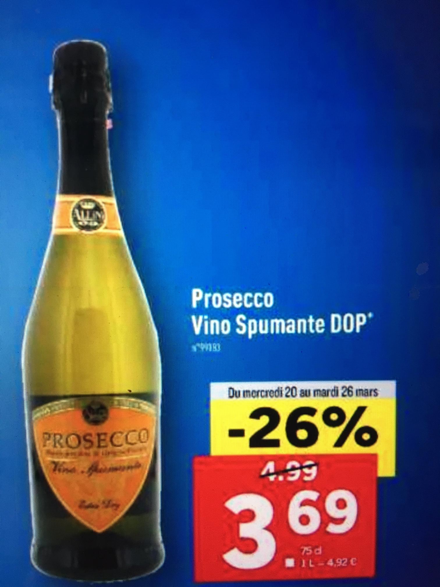 1 Bouteille de Prosecco Vino Spumante DOP - 75cl