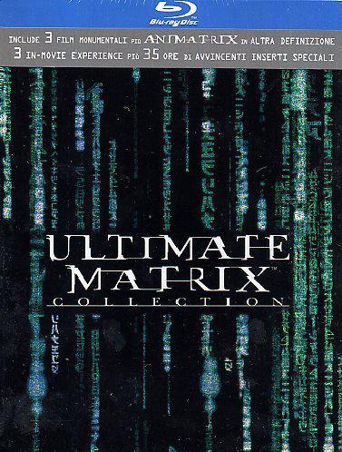 Coffret Blu-ray: Trilogie Matrix - Ultimate Collection