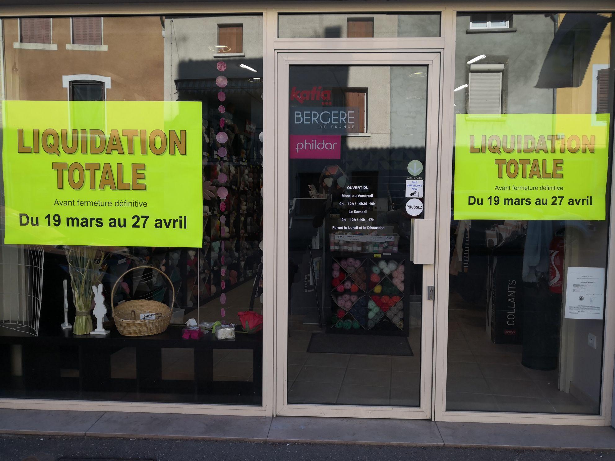 Tous les articles en promotion (liquidation totale avant fermeture) - Rose Laine Lagnieu (01)