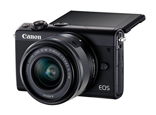 [Prime DE] Appareil photo compact à objectif interchangeable Canon EOS M100 (24.2 Mpix, Bluetooth / NFC) + objectif EF-M 15-45 mm IS STM
