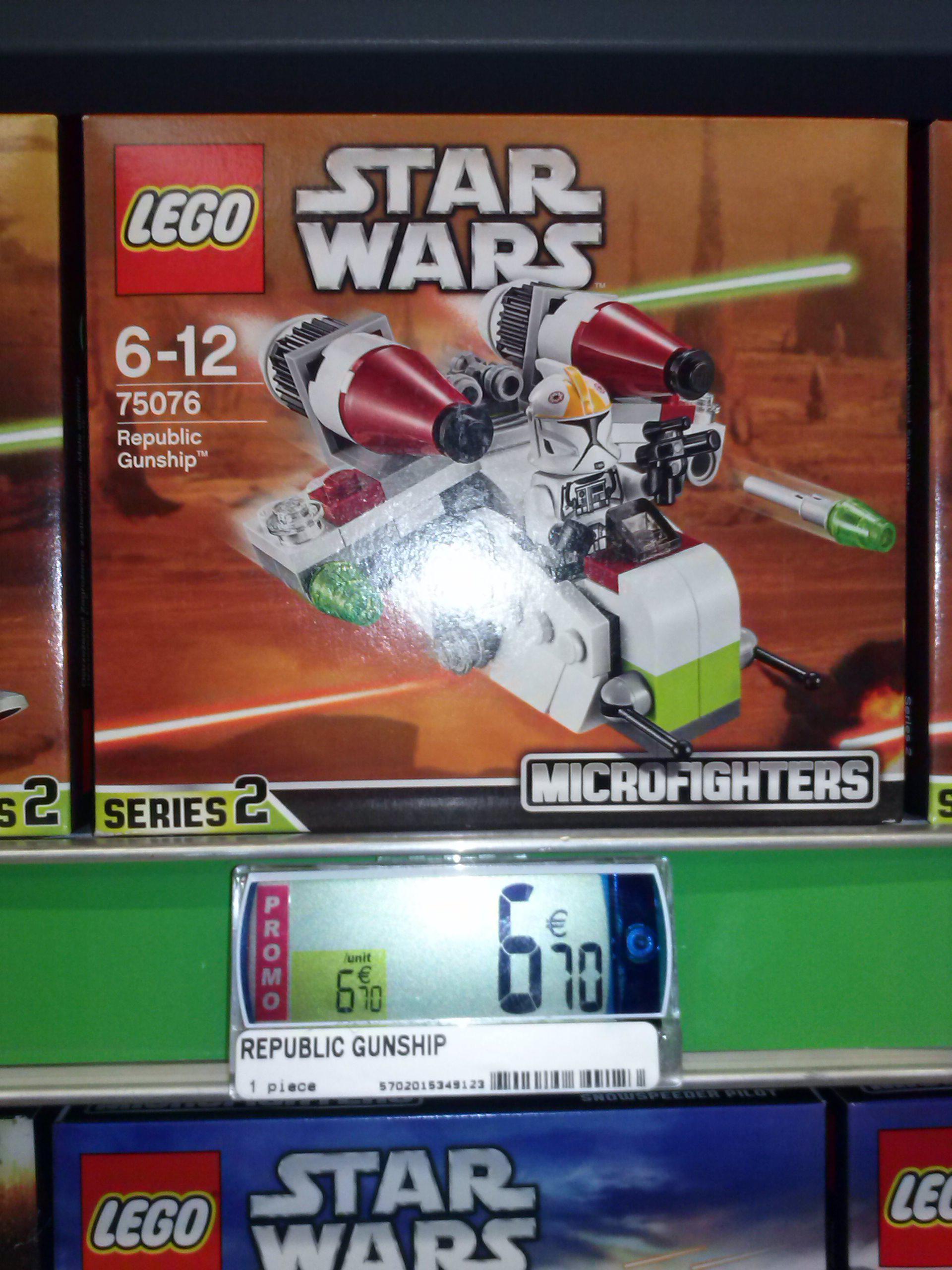 Jusqu'à 40% de réduction sur une sélection de jouets  LEGO - Ex : Les Microfighters Star Wars