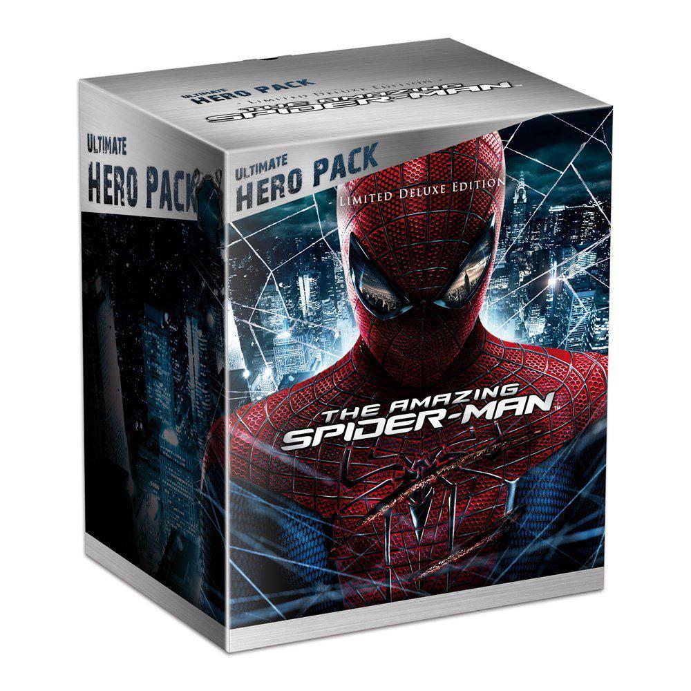Coffret Blu-ray The Amazing Spider-Man - Boitier métal - Coffret collector avec la figurine Lézard